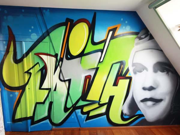 graffiti-schildering